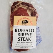 Eichten's buffalo ribeye steak