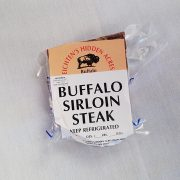 Eichten's buffalo sirloin steak