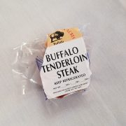 Eichten's buffalo tenderloin steak
